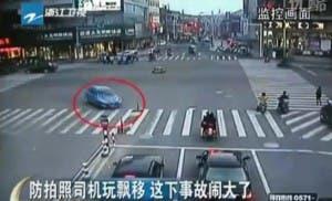 peugeot flip car crash