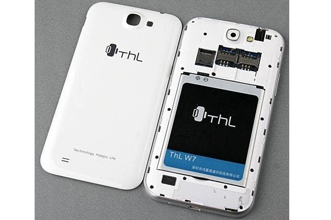 quad-core THL W7 launch