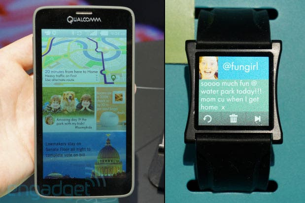 Qualcomm shows off prototype Mirasol displays
