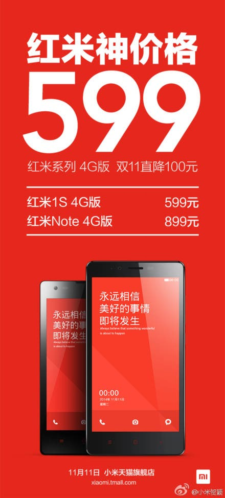 redmi 1s price