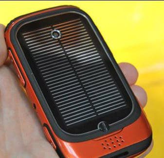 Rugged Solar Powered Cell Phone Gizchina Com