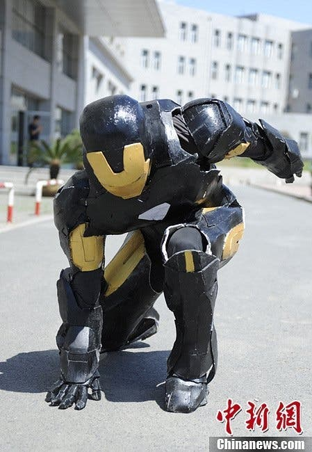 Chinese iron man 3 armour