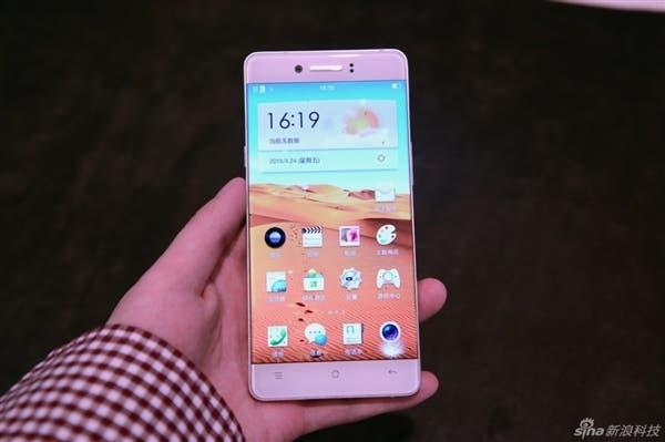 oppo bezel-less phone hands on