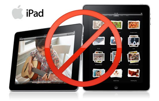 say no to Apple iPad iPad Now Banned in China!