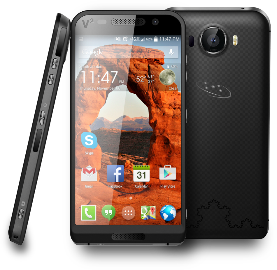 The Saygus V2 threatens Chinese smartphone domination with kevlar body ...