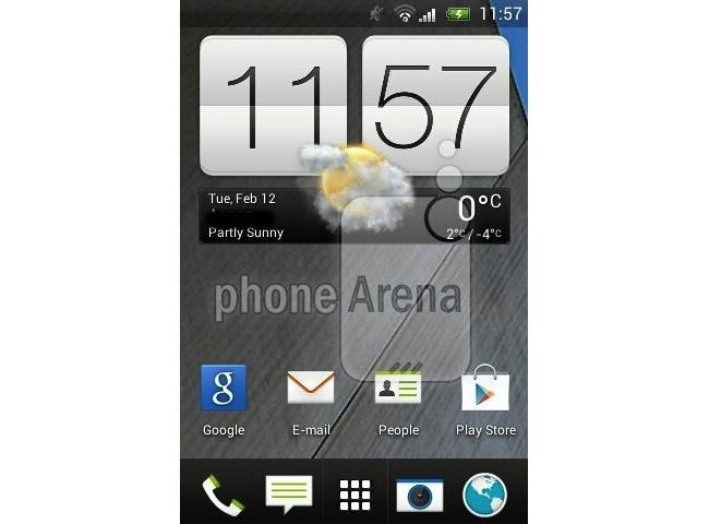 HTC G2 screenshot shows Sense 5 UI