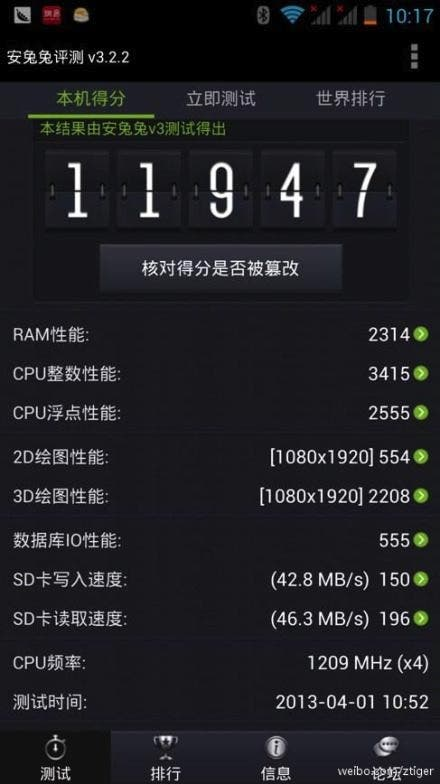 shanda bambook quad core benchmarks UMi X2 look out! Game developer Shanda launching own 1080, quad core phone!