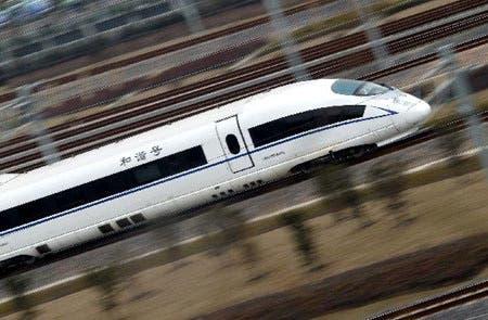 shanghai to beijing 4 hour high speed train testing