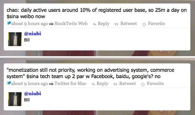 sina wiebo 250 million users,chinese twitter,sina weibo financial report