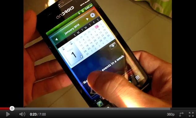 sony ericsson xperia arc clone hands on video picture