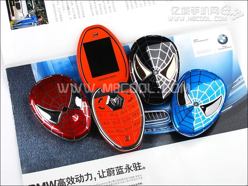 spiderman phones