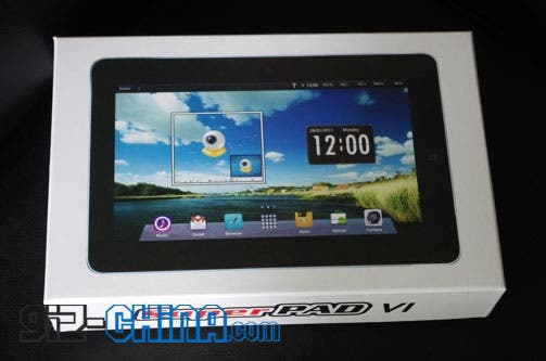 superpad 10inch android tablet 10inch SuperPad Android 4.0 Tablet with GPS
