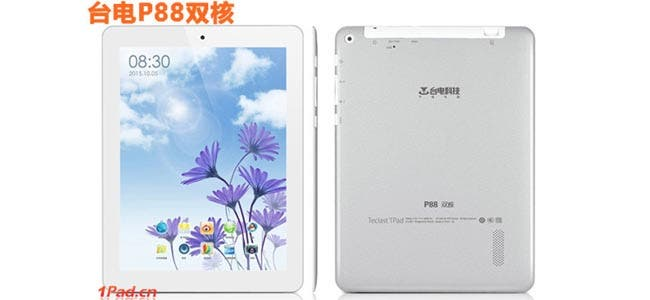 Taipower T88 is a dual-core Jelly Bean iPad mini clone