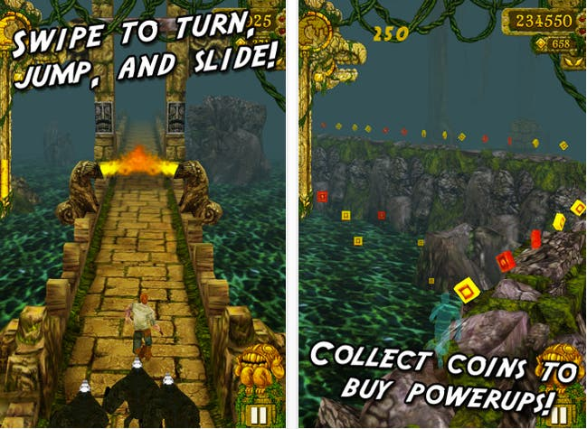 download temple run free iphone game