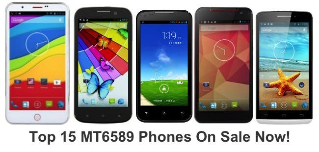 Top 15 quad-core MT6589 phones you can buy right now!