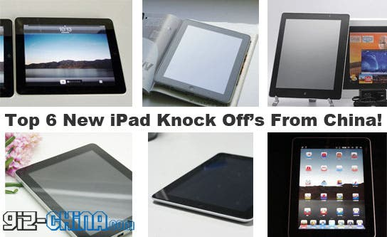 top 6 new ipad 3 knock offs china Top 6 New iPad Clones and Knock off from China!