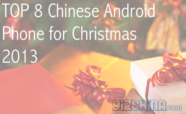 top 8 chinese phones 2013