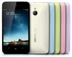 top chinese phone meizu 4-core