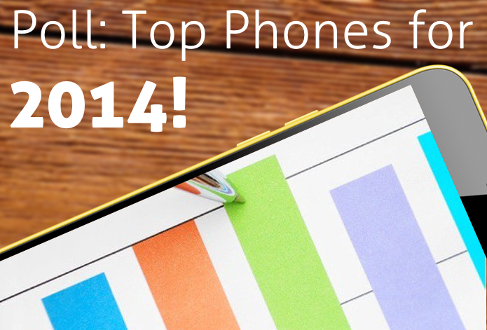 top phones of 2014