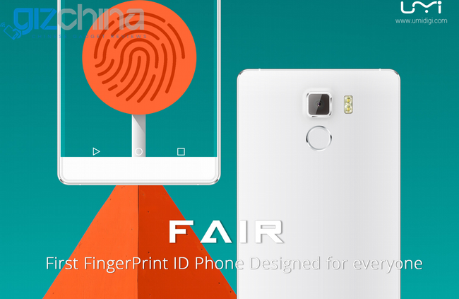 umi fair fingerpting phone