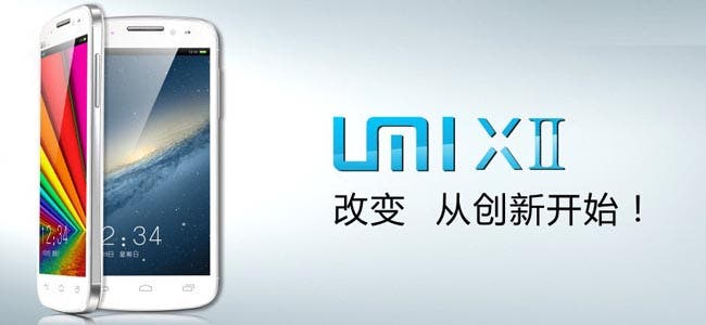 umi x2 quad core mt6589 android phone