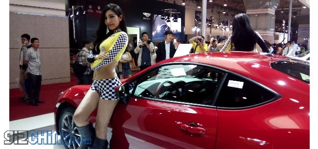 Update: JiaYu G4 Vs. UMi X2 camera shootout at Qingdao International Auto Show 2013!