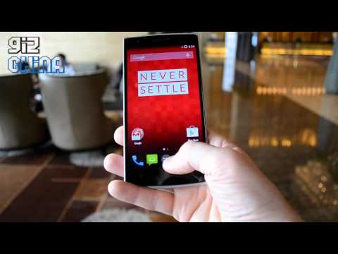 oneplus one video hands on