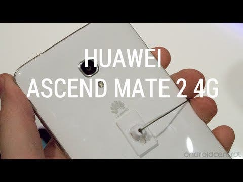Video thumbnail for youtube video Video: Huawei Ascend Mate 2 unveiled with 4G LTE - Gizchina.com