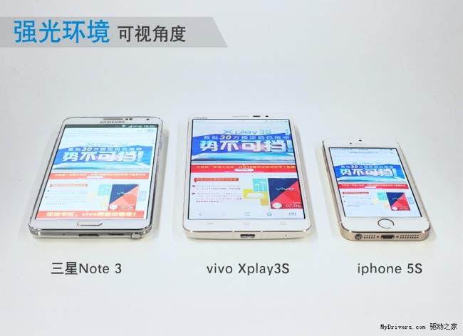 vivo xplay 3s 2k display