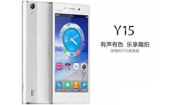 Vivo Y15 joins the quad-core MT6582 TD-SCDMA pack ...