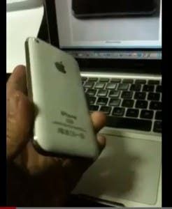 iphone 5 knock off on video