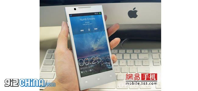 white oppo find 5 leaked photos