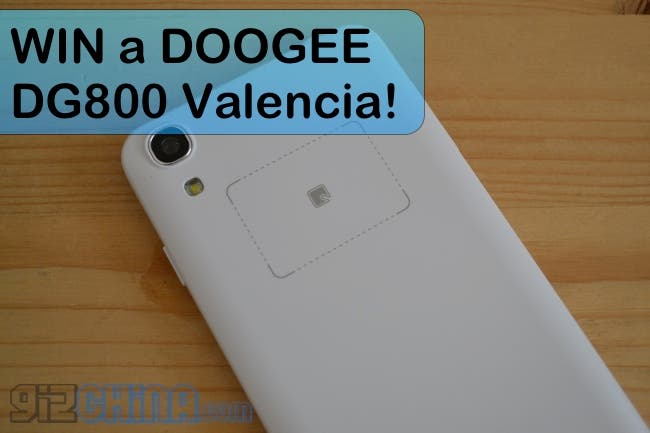 win a doogee dg800 valencia