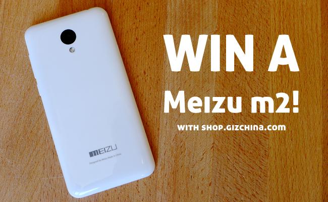 win a meizu m2