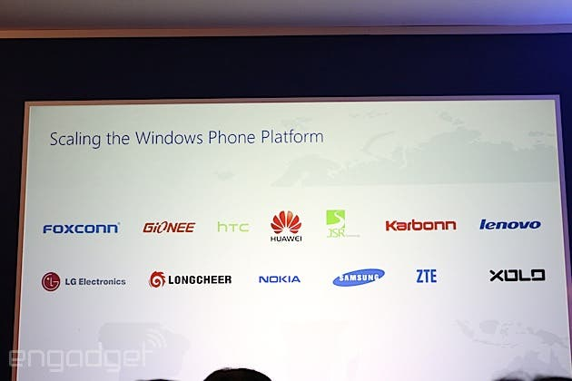 windows phone partners