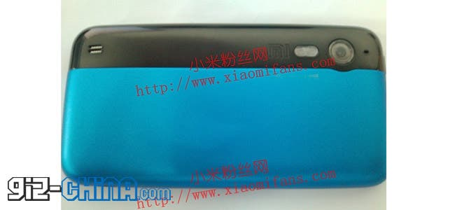 leaked photos of the second generation xiaomi mi2 android windows phone
