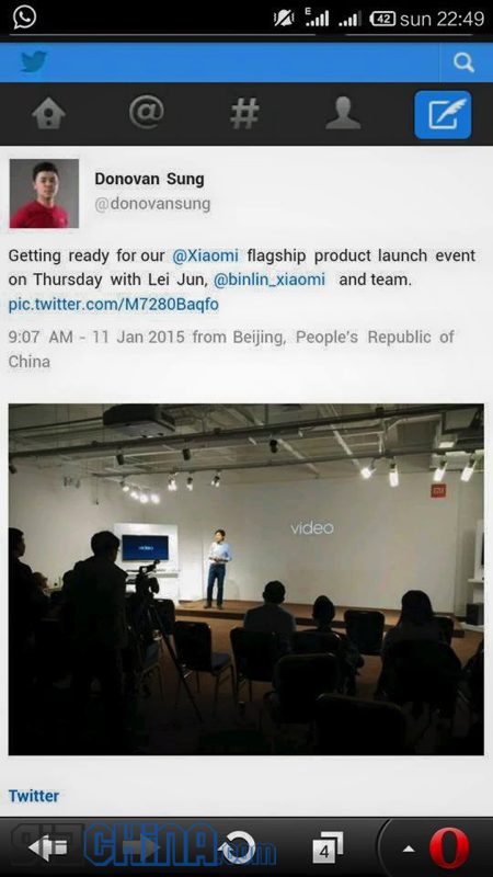 xiaomi flagship launch
