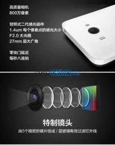 xiaomi m2 cameras