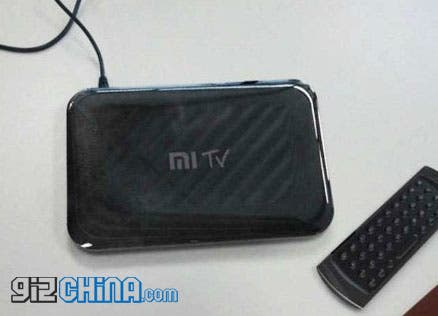 leaked photo of the xiaomi mi tv