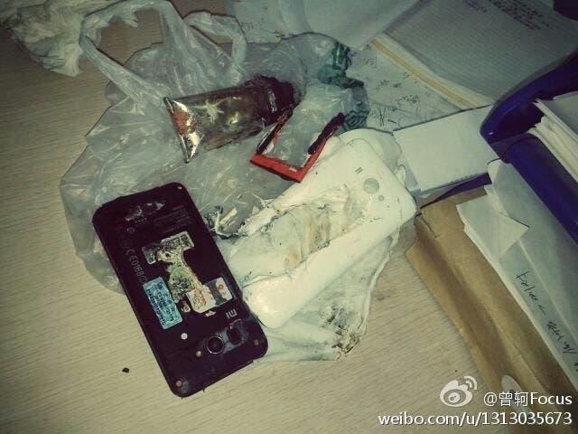 xiaomi mi2 battery explodes