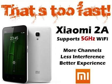 xiaomi mi2a 5ghz wifi Xiaomi MI3, Meizu MX3 and Oppo N1! Flagship battle begins September, details here!
