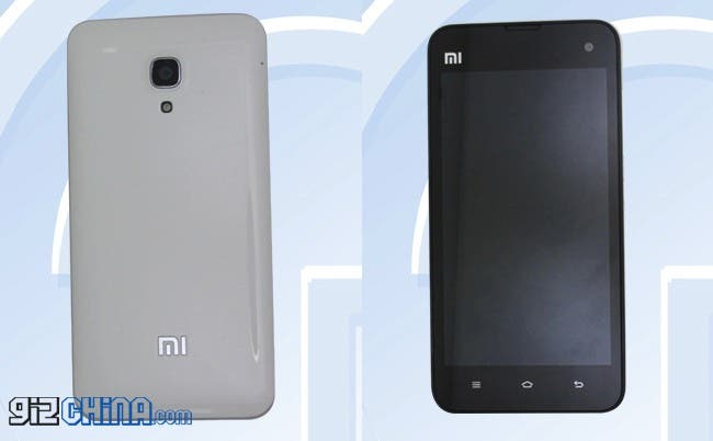 Leaked Xiaomi Mi2A receives network license!