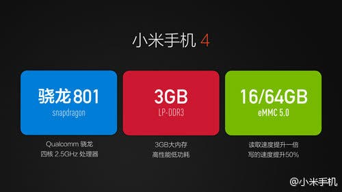 xiaomi mi4 launch