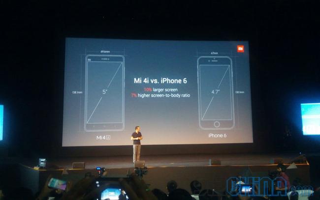 xiaomi mi4i iphone 6