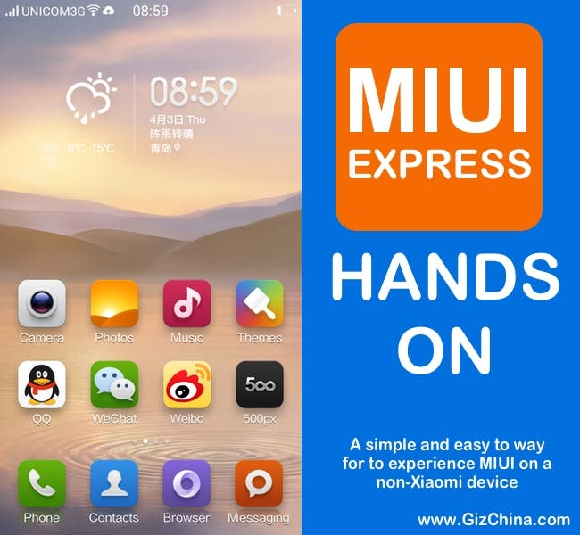 xiaomi miui express video hands on