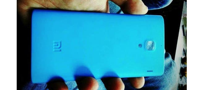 Xiaomi 'Red Rice' spy shots reveal blue version, could run MT6589T