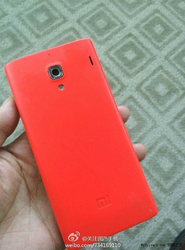 xiaomi red rice full Mystery Xiaomi Red Rice appears again could be a quad core MT6589 phone!