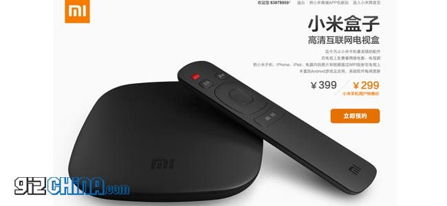 Xiaomi TV to be released 16th November for some! The rest of us will have to wait!