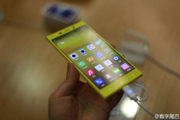 yellow gionee elife e7