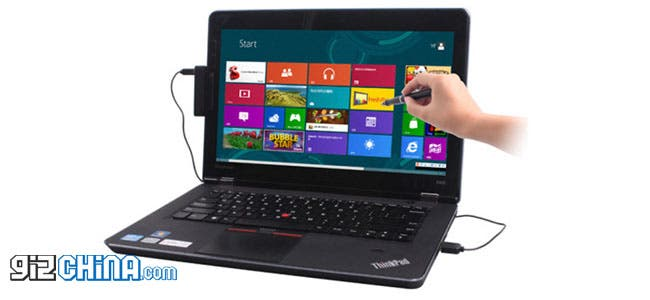 Yifang Touch 8 Stylus converts your laptop to a Surface style touch screen PC